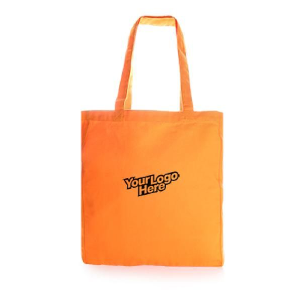 Trisit Canvas Tote Bag Tote Bag / Non-Woven Bag Bags Promotion Eco Friendly TNW1018-ORG_2[1]